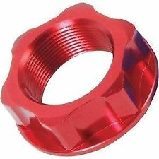 NEW RFX ALLOY STEERING STEM NUT BOLT RED  HONDA CRF 450  X 05-16