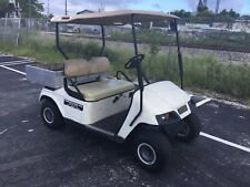 2002 white 2 passenger Ezgo Utility golf Cart Industrial Burden Carrier