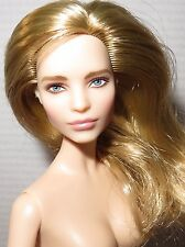 (B) NUDE BARBIE (B) ~ BLONDE BLUE EYE MODEL MUSE NATALIA VODIANOVA DOLL FOR OOAK