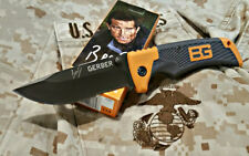 Gerber Bear Grylls Scout Knife Serrated Folding Pocket Knife - 114 - 30-000386