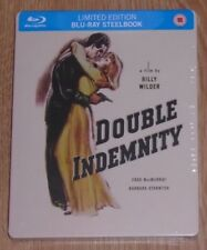 Double Indemnity (Blu-ray) steelbook. NEW & SEALED. Remastered HD.