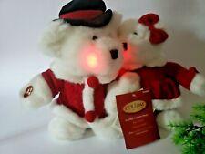 Dan Dee Christmas Teddy Bears Singing Plush Toy Dreaming Of A White Christmas