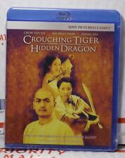 New Crouching Tiger Hidden Dragon On Blu-Ray! Factory Sealed In Srhink Wrap!