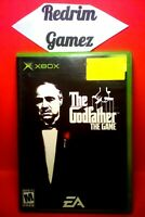 The Godfather w/Map XBOX Video Games