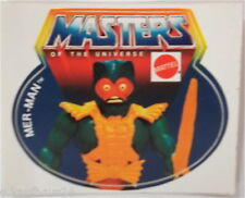 Aufkleber MATTEL MER-MAN MotU Masters of the Universe Sticker 80er