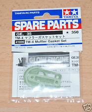 TAMIYA 41035 TM-4 muffler gasket set (TGS/tgsr/TNS/TNS-B/TG10.Mk1/TG10.Mk2) Neuf sous emballage