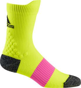 adidas UltraLight Performance Crew Running Socks - Yellow
