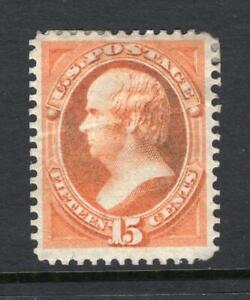 USA 1870 15¢ Webster - OG HHR, fault - SC# 152   Cats $3,500.00    No Reserve!