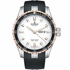Edox 88002 357RCA AIR Men's Grand Ocean White Automatic  Watch