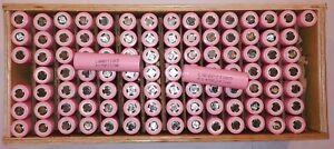 100 pcs lots tested 18650 cells zellen LGBD11 2200-2399 mAh for DIY powerwall