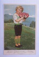 Geburtstag, Kinder, Mode, Blumen,   1930 ♥