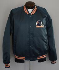 Vintage 80's Chicago Bears Satin Jacket Size XXL to XXXL