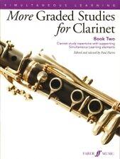 MORE GRADED STUDIES FOR CLARINET Book 2 Harris