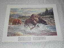 REMINGTON ARMS A TRIBUTE TO ALL CONSERVATIONISTS LITHO PRINT SET OF 4 1980