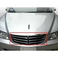 Front Hood Radiator Grill CARBON Eagle Style PAINTED For 2006 2010 Hyundai Azera