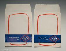 - 2 x Tüten/Papiertüten photographiere mit Agfa um 1965