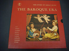 Baroque Era,Story of Great Music,Bach,Corelli,Couperin,Handel,Purcell,STL 144