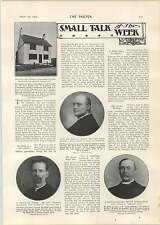 1905 Green Houfton Chesterfield £150 Cottage Langbridge Forbes Philips