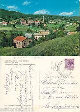 CARTOLINA RARA,  CASANOVA DI ROVEGNO (GENOVA ) VAL TREBBIA , PANORAMA