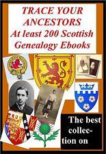 2 DVD Scottish Genealogy set Best 200 Rare Books on Heritage Trace Ancestors