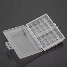 Useful 1x Hard Plastic Battery Case Box Holder Storage for 10 AA/AAA BatteriesZP