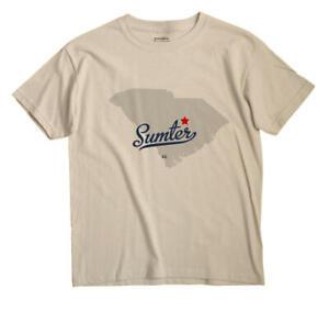 Sumter South Carolina SC T-Shirt MAP