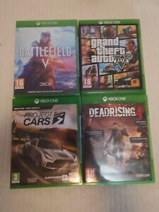 4 X Xbox One Game's