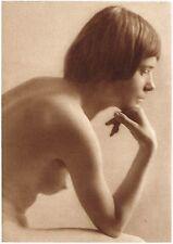 1920's Vintage German Female Nude Model Art Deco Twenties Photo Gravure Print