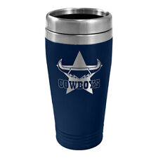 North QLD Queensland Cowboys NRL Stainless Steel Travel Coffee Mug Cup Gift