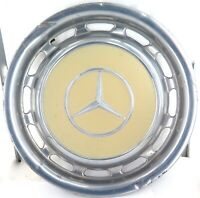 ".VINTAGE / USED 1960s - 1980s MERCEDES BENZ 38 CMS / 13"" HUBCAP. W108 - W116 #1"