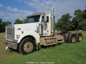 Freightliner FLD120SD T/A Truck Tractor Day Cab 10 Speed Cat Diesel bidadoo