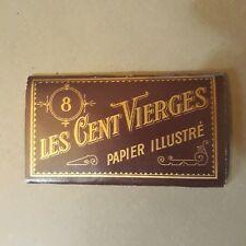 N° 8 papier à rouler papier à cigarette Les cent Vierges BREMAUD TABAC