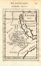 ABYSSINIA. Ethiopian 'Empire des Abyssins'. Blue Nile. Eritrea. MALLET 1683 map