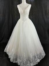 ♥Brautkleid Hochzeitskleid Weiß Gr.S/M,NEUl♥