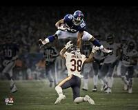 "Saquon Barkley New York Giants Hurdle Unsigned 8"" x 10"" Photograph"
