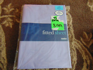 Fitted Sheet - Single - New in Packaging - Purple (i)