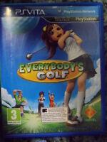 EVERYBODY'S GOLF PS Vita ¡Únete al Club! En castellano Playable in english.,