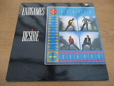 "Endgames – Desire      Vinyl 12"" UK 1984 Electro Synth Pop   VIRGIN - VS 651 12"