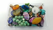 1.4 Lb Stone Scrap Jewelry Craft Lot Bt968