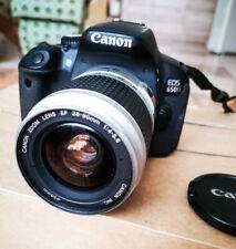 Canon EOS 650D Digitalkamera mit Canon Zooms EF 28-90mm 1:4-5.6 gebraucht