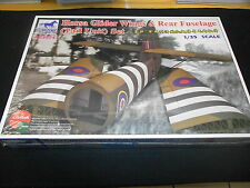 BRONCO AB3574, 1/35 HORSA GLIDER WINGS & REAR FUSELAGE SET PLASTIC MODEL KIT