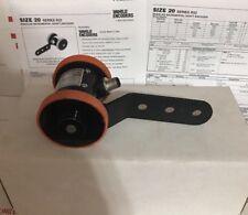World Encoders R22-1200/5-26MW-8 Size 20 Wheeled Incremental Shaft Encoder