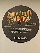 RADIO SHOW: USMC COUNTRY GOLD 23 9/10 HANK WILLIAMS JR, HANK THOMPSON, ROY CLARK
