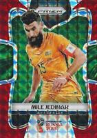 2018 Panini Prizm World Cup Russia '18 Australia Red Mosaic Parallel #267 - #274