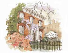 Blank Note Cards & Envelopes The Mercer-Williams House Savannah GA 10 - 710390