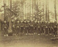 Union Army 114th Pennsylvania Zouaves Band Petersburg 8x10 US Civil War Photo