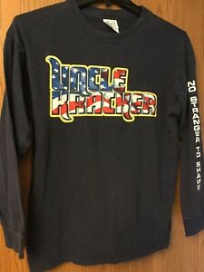 "Uncle Kracker - ""No Stranger To Shame"".  Blue Shirt.  Long Sleeve.  L."