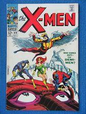 X-MEN # 49 - (VF) - 1ST POLARIS/STERANKO/ORIGIN OF BEAST/MESMERO/LORNA DANE