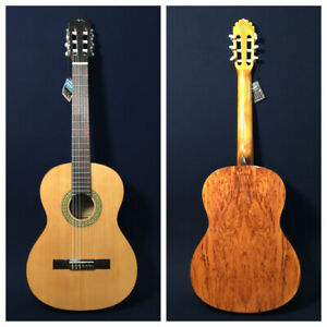 4/4 MR #11 Solid Cedar Top Classical Guitar +Free Gig Bag - Cosmetic Blemished