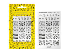 Original KONAD ® X BARABAPA Happy Stamping Schablone Nailart Design Nagel
